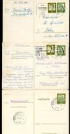 BUND P74  3 Postkarten Hamm + Gießen + Hamburg-Bergedorf 1962-63 - BRD