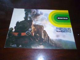 AA1-5 Minitrix Das Minitrix ABC Der Leichte Weg Zur Perfekten Modellbahn Anlage - Modélisme Train - 1978 - Livres Et Magazines