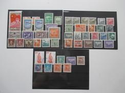 Asien / China 50 Marken Auf 3 Steckkarten!! Interessant?! Sehen Sie Auch Meine Anderen China Angebote! - 1949 - ... Repubblica Popolare