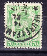 COB 712 Cachet à étoiles HEURE FAMENNE (6C196) - Marcophilie