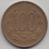 @Y@     Chili   100 Pesos  1994    (3437) - Chili