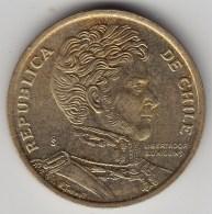 @Y@     Chili   10 Pesos    2010      (3438) - Chili