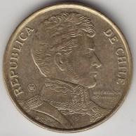@Y@     Chili   10 Pesos     2007      (3446) - Chili