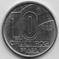 @Y@     Brazilië   10 Cruzeiros   1990       (3440) - Brazilië