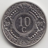 @Y@     Nederlandse Antillen   10 Cent 1999       (3443) - Netherland Antilles