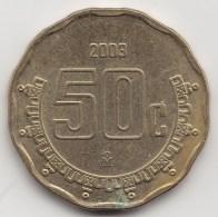 @Y@     Mexico   50 Centimos   2003          (3447) - Mexico