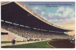 TORONTO Ontario CANADA, GRANDSTAND STADIUM, CANADIAN NATIONAL EXHIBITION  C1955 Old Postcard [6128] - Toronto