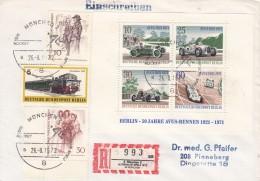 Duitsland-Bund, 1972, Reco-brief Olympische Spiele München (07842) - Hockey (sur Gazon)