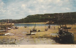 ANGLETERRE---COMWALL SCILLY ISLES---ST. IVES--low Tide. The Harbour----voir 2 Scans - St.Ives