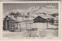 """38 - VILLARD DE LANS - Pensions D'Enfants - """"Les Sapins"""" - """"Le Rocher"""" - Villard-de-Lans"""