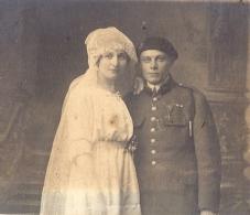 MILITAIRE MEDAILLE SE MARIE  ANNEE 1910 ENVIRON 8X6,5CM - Guerre, Militaire