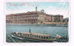 St. Petersbourg - Palais D` Hiver Et Néva - 1913 - Russia - Russie