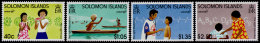 Solomon Islands, 1996, UNICEF 50th Anniversary, Children, United Nations, MNH, Michel 924-927 - Salomon (Iles 1978-...)