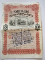 Barcelona Traction Light And Power - Transports