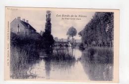 CPA-WX967-BORDS DE LA NIEVRE PONT SAINT OURS - France