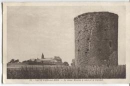 CPA - ST PAIR S/MER - LE VIEUX MOULIN A VENT  - Edition A.B. - Saint Pair Sur Mer