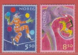 2002 ** (sans Charn., MNH, Postfrish)  Yv  1389/90Mi  1446/7NHK  1481/2 - Norvège