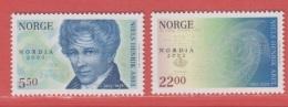 2002 ** (sans Charn., MNH, Postfrish)  Yv  1391/2Mi  1448/9NHK  1483/4 - Norvège
