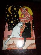 Carte Postale Illustrateur Patrick Hamm  Amour De Félin N°2 - Hamm