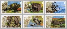 Jersey 2034/39 W.W.I Batailles Terre Air Mer , Cheval , Char , Avion , Radio - WW1