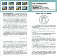 MONUMENTS - ARCHES ET PORTES - DOCUMENT INSTRUCTIF DE L´ÉMISSION DE TIMBRE ESPAGNE - España