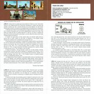 TOUS AVEC LORCA - SEISME - DOCUMENT INSTRUCTIF DE L´ÉMISSION DE TIMBRE ESPAGNE - España