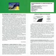 Année Internationale De L'énergie Durable Pour Tous - DOCUMENT INSTRUCTIF DE L´ÉMISSION DE TIMBRE ESPAGNE - Sin Clasificación