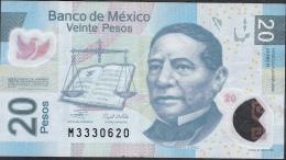 MEXICO  P122g   20 PESOS 23.4.2009    Serie K       VF NO P.h. ! - Mexique
