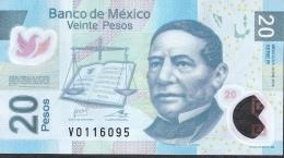 MEXICO  P122k 20 PESOS    10.1.2012    Serie R       VF NO P.h. ! - Mexique