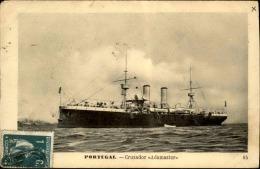 """BATEAU / PORTUGAL -  Le Cruzador """" Adamastor """" En 1912 - A Voir - L 5153 - Commerce"""