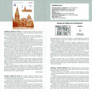 CATHÉDRALE DE TOLEDO - DOCUMENT INSTRUCTIF DE L´ÉMISSION DE TIMBRE ESPAGNE - España