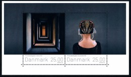 DENMARK/Dänemark 2016 Stamp Art, Trine Søndergaard Minisheet** - Blocks & Sheetlets