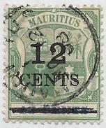 Ile Maurice Oblitérér, Surchargé, USED, SURCHARGED - Mauricio (1968-...)