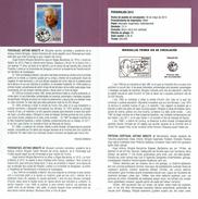 PERSONNAGES - DESSINATEUR - ANTONIO MINGOTE - DOCUMENT INSTRUCTIF DE L´ÉMISSION DE TIMBRE ESPAGNE - España