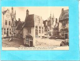 YPRES - BELGIQUE - La Petite Place Du Musée Avant Et Après Le Bombardement - ******  - - Autres