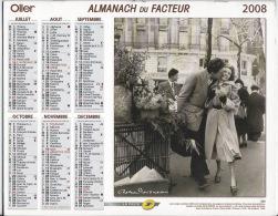 Almanach Du Facteur 2008  Robert Doisneau Et Daniel Frasnay - Calendars