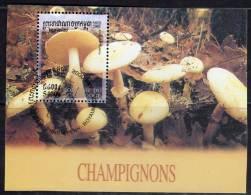 CAMBODGE - 2001 - BLOC N° 177  Oblitéré - CHAMPIGNONS - Cambodge