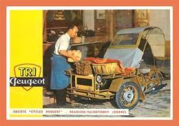 A596 / 173 TRI PEUGEOT Beaulieu Valentigney Doubs ( Voiture ) - Postcards