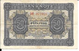 50 PFENNIG 1948 - [ 5] Ocupación De Los Aliados