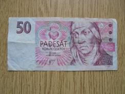 Ancien Billet De Banque - 50 PADESAT KORUN CESKYCH - 1997 République Tchèque - Billets