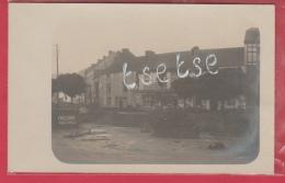 Aywaille -Inondations De 1913 ...le Long D´un Hôtel-Restaurant - Carte Photo ( Voir Verso ) - Aywaille