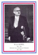 Carte Postale Centenaire Vincent Auriol 1984 Revel Muret - Revel
