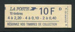 FRANCE- Carnet Y&T N°1501- Neuf Et Non Ouvert (carnet Dit à Composition Variable) - Carnets