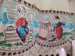Frise Papier Peint Ancien Enfantina 15.5 X 63 Environs - Rugs, Carpets & Tapestry