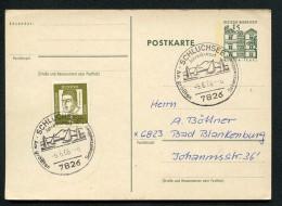 SEGELBOOTE SCHLUCHSEE Auf Postkarte Bund P82 6.6.66 6 Uhr - Ferien & Tourismus