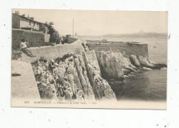 Cp, 13 , MARSEILLE , Animée , Château D'IF , Vierge - Château D'If, Frioul, Iles ...