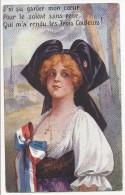 """Carte Postale """"soldat Qui M'a Rendu Les Trois Couleurs"""" - Envoyée à Chateauroux  - 1918 - Patriotic"""
