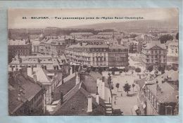 CPA - Belfort (90) - 85. Vue Panoramique Prise De L'Eglise Saint-Christophe - Belfort - Ville