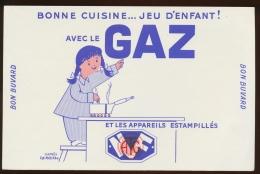 Buvard -  LE GAZ - NF - G
