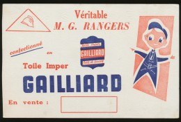 Buvard -  GAILLIARD - Veritable Rangers - G